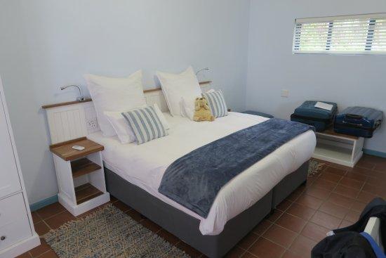 Arniston, South Africa: Blick auf das King Sice Bett