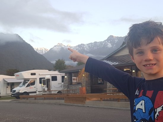 Fox Glacier TOP 10 Holiday Park: Great place to stay, kids had a fun time
