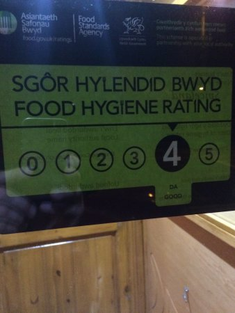 Pencoed, UK: Back again for more food and I must say delicious and hygiene rating good