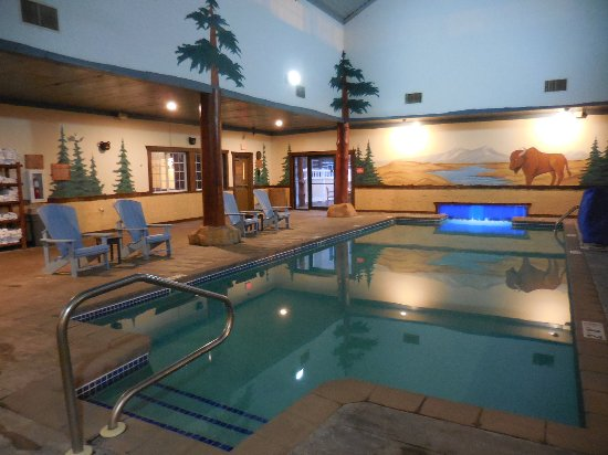 heated indoor pool picture of stoney creek hotel. Black Bedroom Furniture Sets. Home Design Ideas