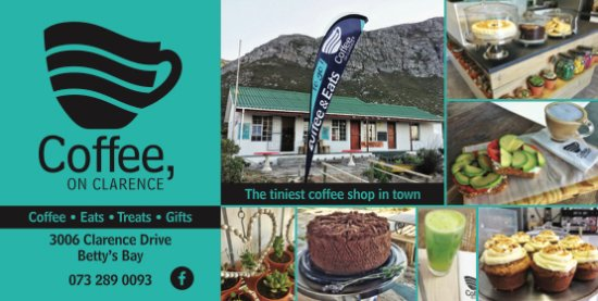 Coffee shop, deli and gifts - in the heart of beautiful Betty's Bay.