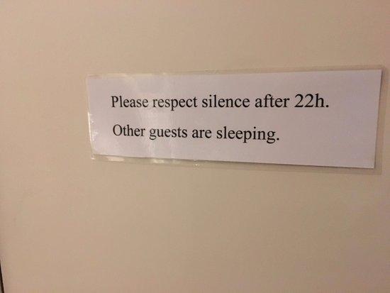 Ambrosia Hotel: Signage