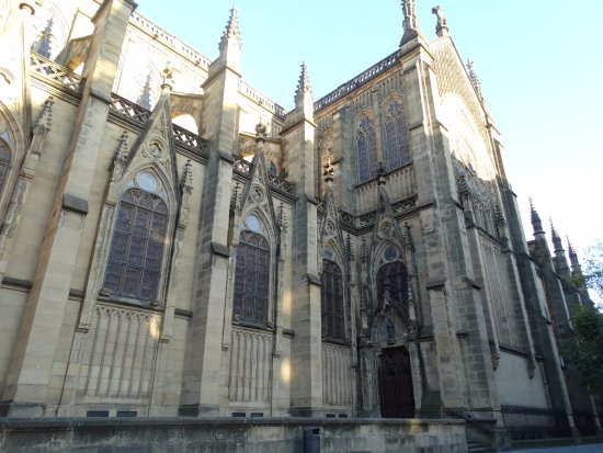 Buen Pastor Cathedral : Vista lateral de la Catedral