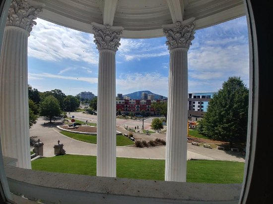 Hunter Museum of American Art : view from the mansion