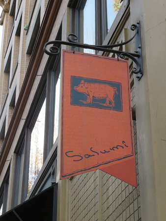 Armandino's Salumi : Look for this sign...