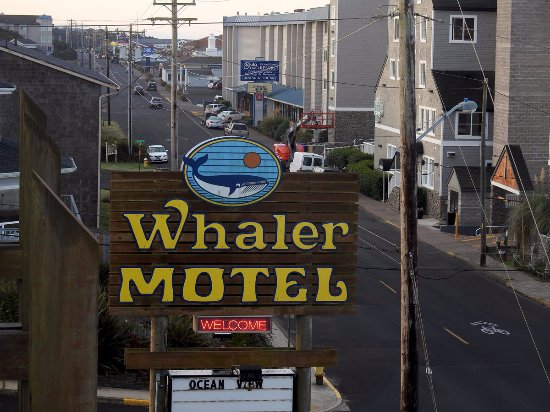 Welcome Sign Out Front Picture Of The Whaler Newport