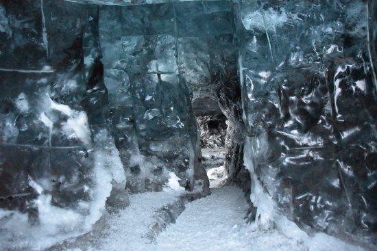 Hofn, Iceland: Ice cave entrance