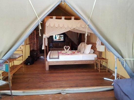 La Cocoteraie Ecolodge Luxury Tents: Our Tent/Room