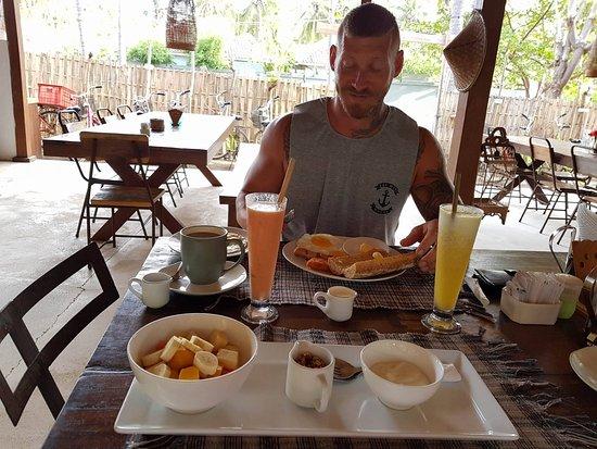La Cocoteraie Ecolodge: Breakfast