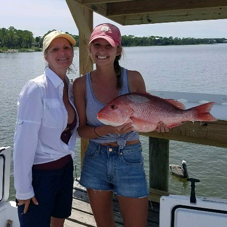 St. George Island, FL: Girls can fish too!