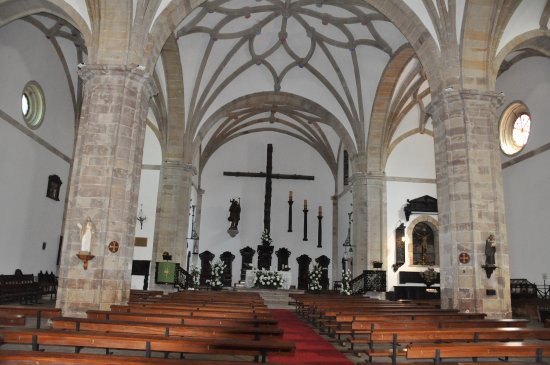 Comillas, Spain: Inside view.