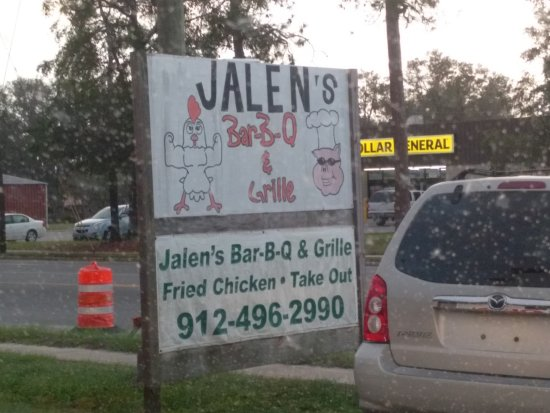 Folkston, GA: Sign for the best food in town