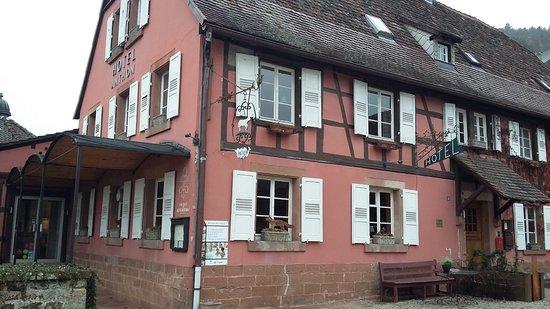 Obersteinbach, Frankreich: L'hôtel restaurant.