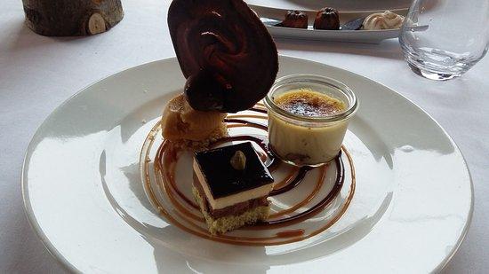 Obersteinbach, Francia: Assiette de desserts