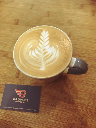 Ballyclare, UK: Brown's Coffee Co.