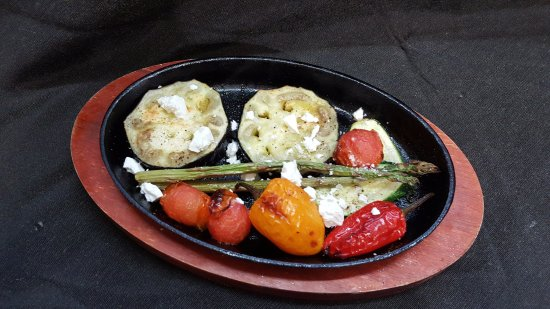 Westport, Новая Зеландия: Grilled Mediterranean Vegetables (GF/V)