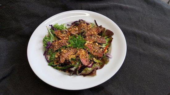 Westport, Новая Зеландия: Thai Beef Salad  (GF)