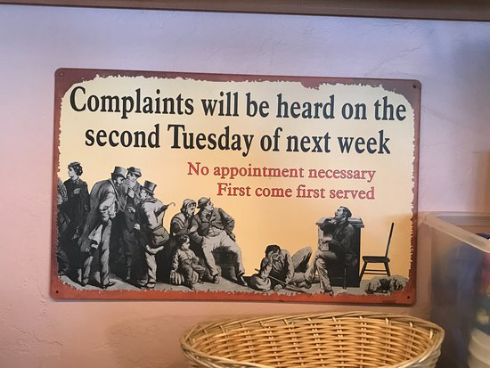 Ellison Bay, WI: Poster in the Viking Grill