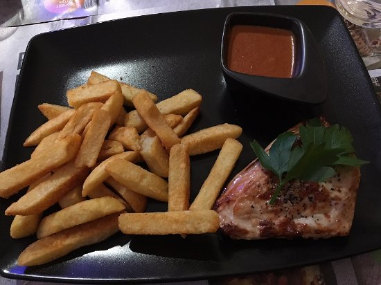 Kista, Swedia: Chicken & fries