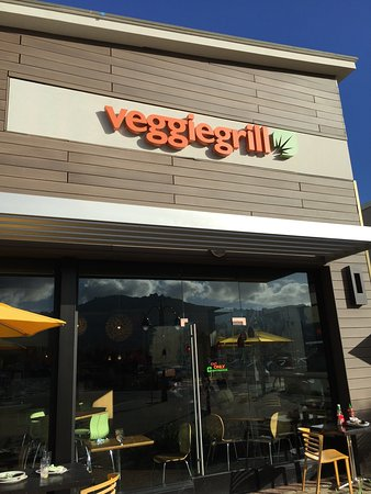 Veggie Grill: entrance