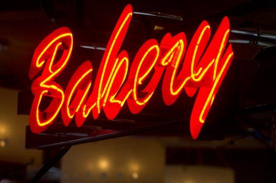 Fishkill, NY: Interior Bakery Sign