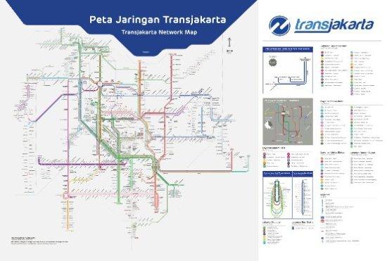 Map Jakarta.Peta Rute Transjakarta Picture Of Transjakarta Jakarta Tripadvisor
