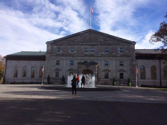 Rideau Hall : Residencia del monarca y gobernador canadiense