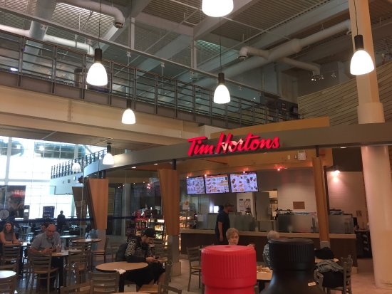 Dieppe, Canadá: Tim Hortons at YQM
