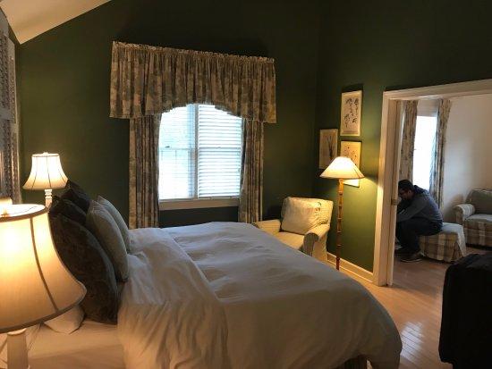 Royal Oak, MD: Cottage bedroom