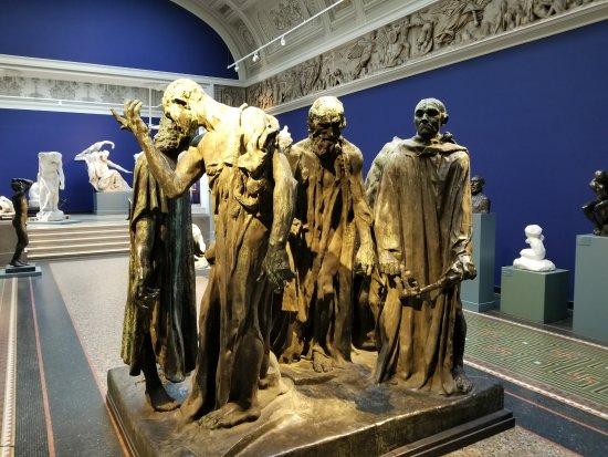 Ny Carlsberg Glyptotek : Rodin's Burghers of Calais