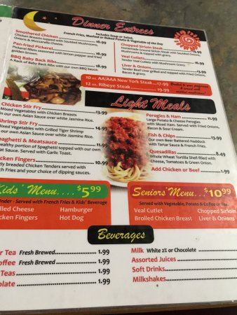 Menu selections, Headingley Grill 180 Bridge Rd | Headingly, Headingley, Manitoba