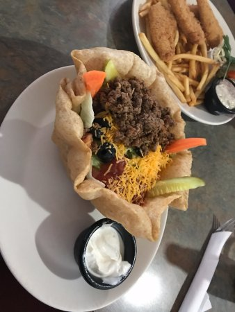 Taco salad with beef, Headingley Grill 180 Bridge Rd | Headingly, Headingley, Manitoba