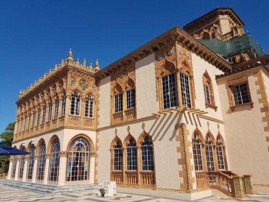 venetian architecture picture of ca d 39 zan mansion