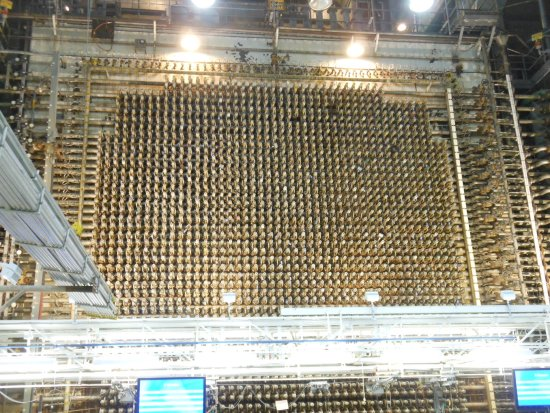 Richland, WA: Over 2,000 Process Tubes at the Front Face of the B Reactor