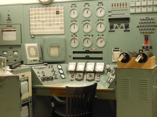 Richland, WA: Control Room of the B Reactor
