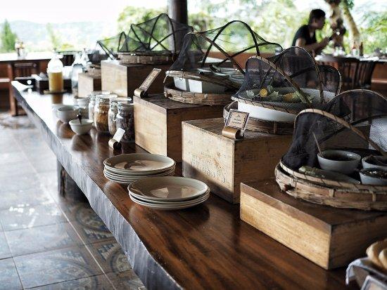 Mae Chan, Thailand: Breakfast buffet