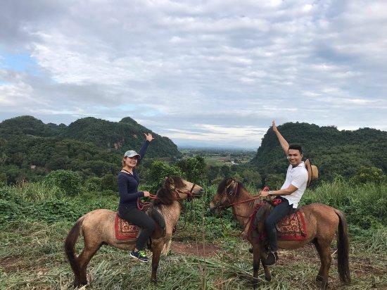 Mae Chan, Thailand: Mongolian Horse-riding