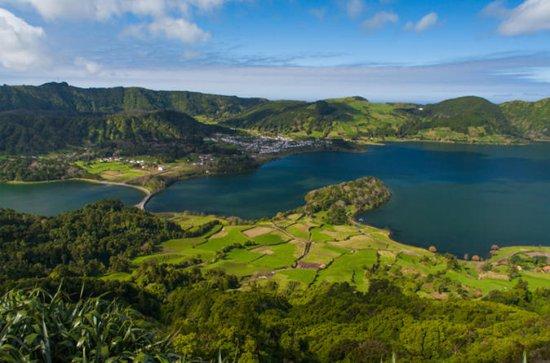 São Miguel West from Ponta Delgada...