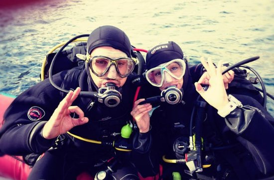 25-Hour Open Water Diver Course in...