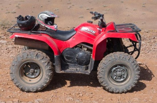 Excursion en quad dans la palmeraie...
