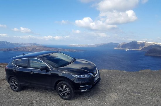 Private Tour: Santorini Panorama SUV...