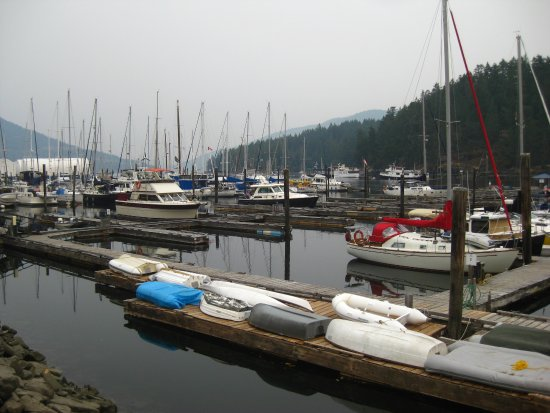 Duncan, Canada: Maple Bay marina.