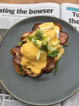 Beaumaris, Australië: Eggs benny