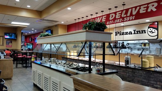 Pearl, MS: Salad Bar and Pizza Buffet