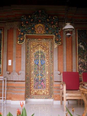 Ubud Terrace Bungalows: Room entrance