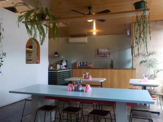 Brunswick, Austrália: Order counter at the rear