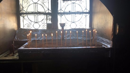 Prayer candles  - Picture of Mount Lycabettus, Athens