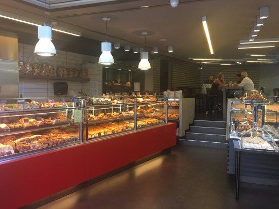 Apollonion Bakery - Kolonaki: Ground level - great selection.