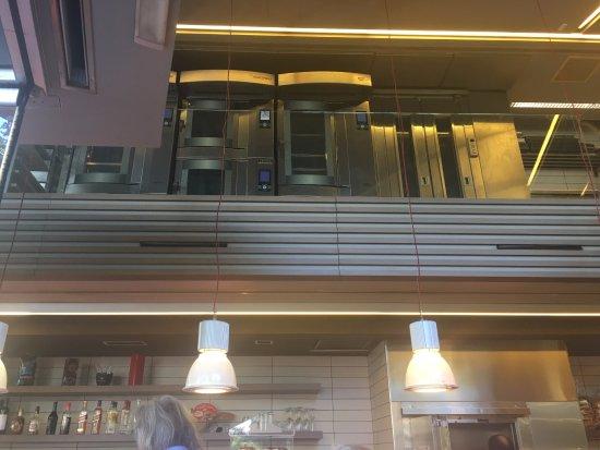 Apollonion Bakery - Kolonaki: Open industrial kitchen