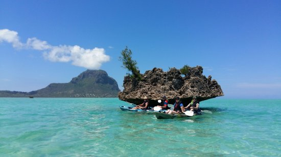 Rivière Noire: Kayak excursion to Benitier Island wit Rent A Sup